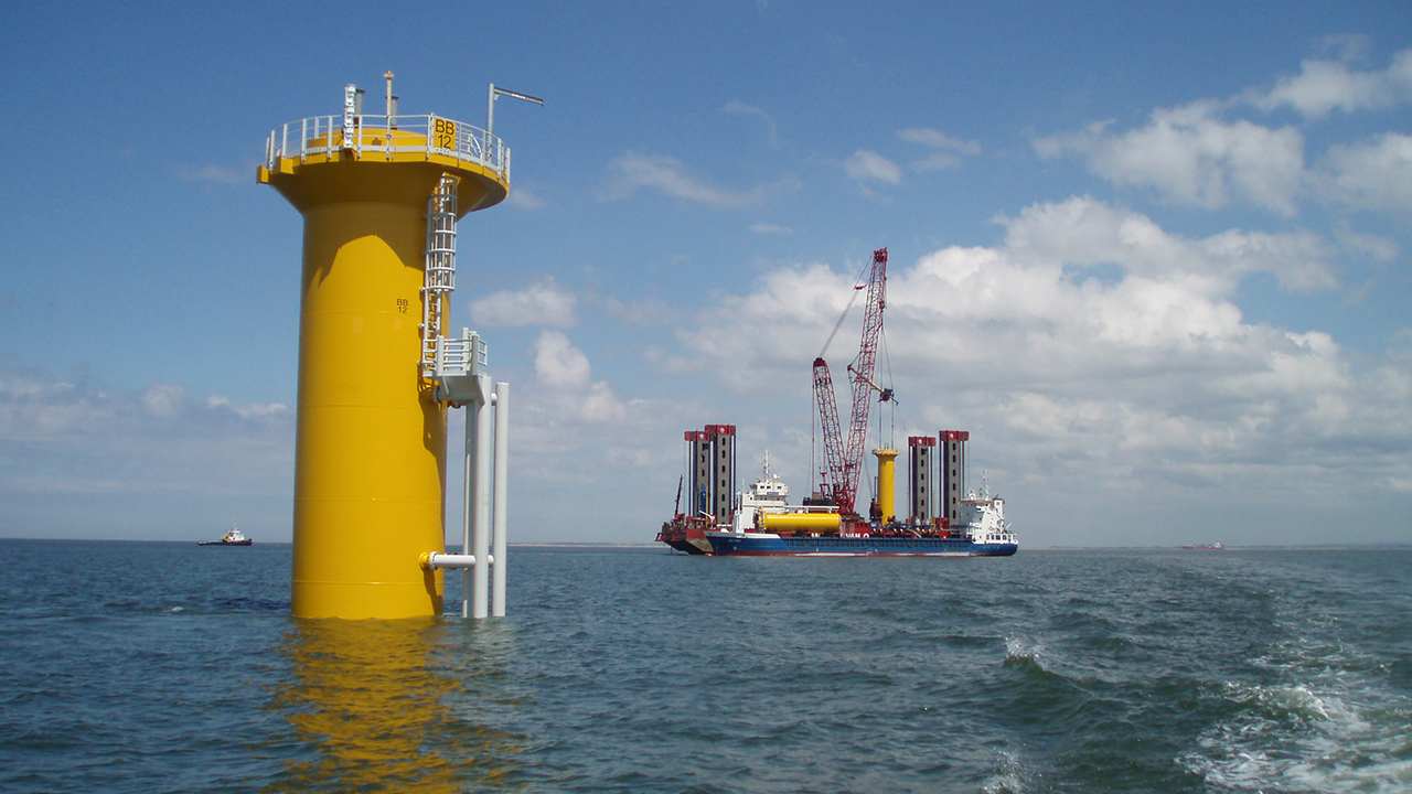 Offshore wind turbine foundation