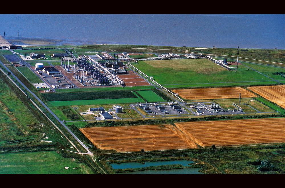 Norsea Gas Terminal in Emden, Germany