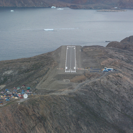 Ramboll have built up a special expertise in the design and supervision of Arctic airports construction