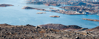 Nuuk harbour expansion